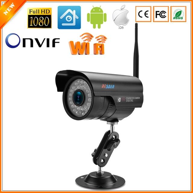 BESDER XMEye Wifi Surveillance Outdoor Bullet CCTV Camera 1080P 960P 720P Wired Wireless IP Camera ONVIF 2.0 RTSP Motion Detect