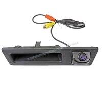 Night Vision MCCD Wide Angle Car Rear View Backup Trunk Handle Camera For BMW F10 F11 F25 F30 BMW 5 BMW 5/3 X3