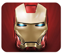 Free Ship 2015 New Design Custom Doormats Stylish Coussin Iron Man Red Background Bedroom Carpets Durable