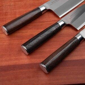 Image 4 - Mokitmanual facas de enchimento de peixe, facas de aço inoxidável deba de alto carbono da alemanha 1.4116 para enfilar sushi salmon