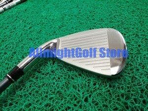 Image 2 - 11 pcs 골프 클럽 완료 세트 aerobur 골프 세트 남자 드라이버 + 페어웨이 + 철 + 퍼터 흑연/스틸 샤프트 캐디 가방
