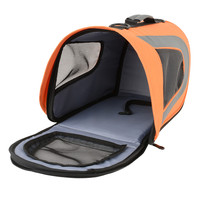 Portable Foldable Pet Carrier Kennel For Dog Cat Travel Soft Crate Cage Kennel XL 64x33x33 5CM