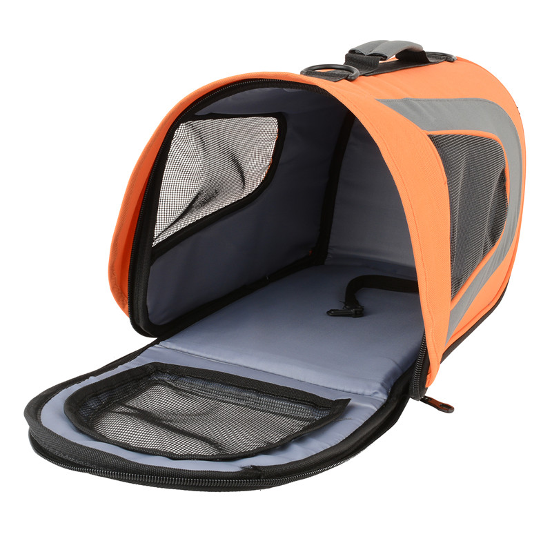 Portable Foldable Pet Carrier Kennel for Dog Cat Travel Soft Crate Cage Kennel XL 64x33x33.5CM/50 x 25 x 27cm 3 colors
