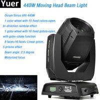 Moving Head Beam Light Sharpy 20R O sram Sirius HRI 440W with prisms motorized focus 20 Channels dmx512 Clay Paky disco DJ light