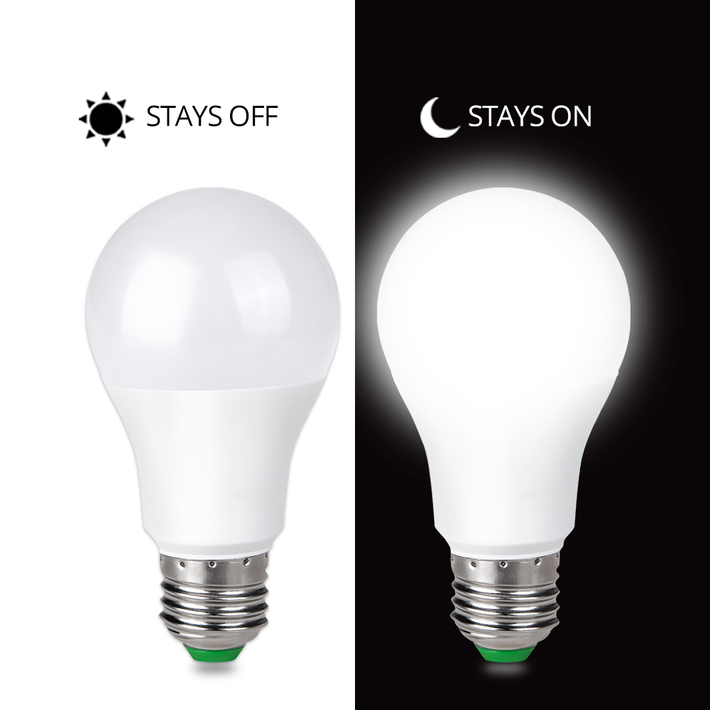 Dusk To Dawn Porch Light Bulb: 85 265V Porch Lights Dusk To Dawn LED Bulb 10W 15W E27 B22