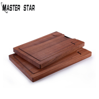 Master Star Food Grade Cutting Board Wood Chopping Board Fruits Meat Chopping Blocks Kitchen Supplies