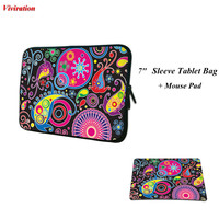 2017 Newest 7 Inch Sleeve Tablet Bag Computer Gaming Mouse Pad Mat Woman Universal Tablet Cover