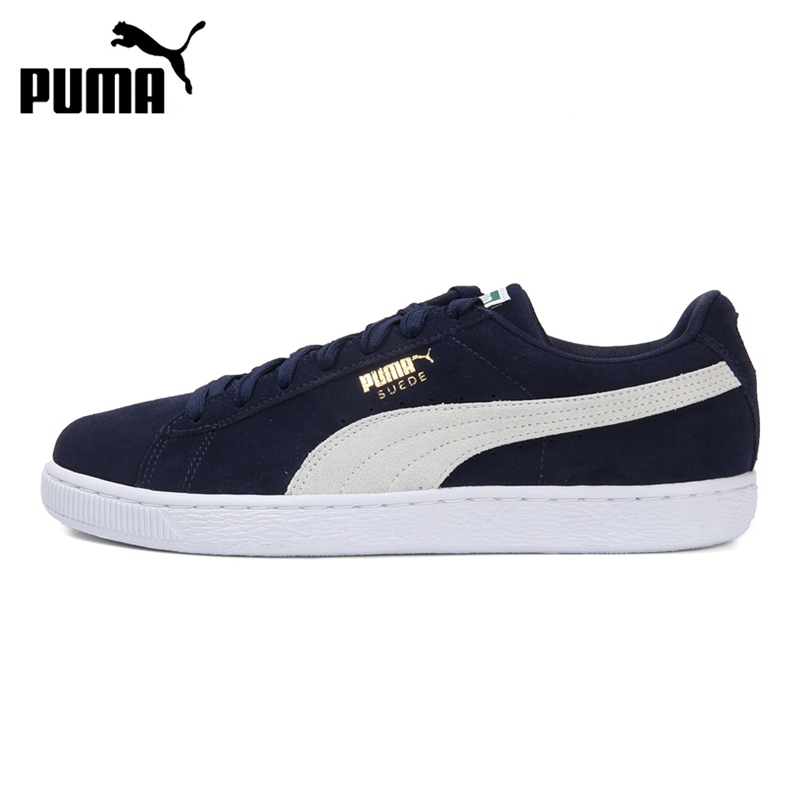 Original New Arrival 2019 PUMA Suede Classic +  Unisex  Skateboarding Shoes Sneakers