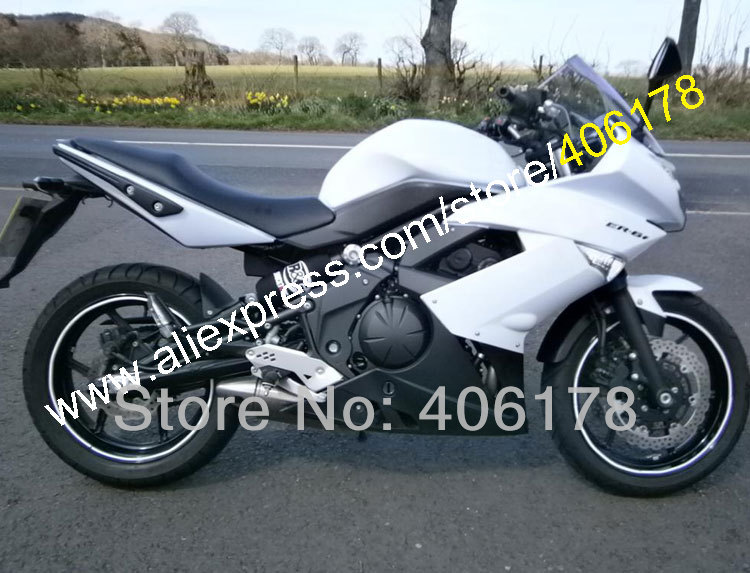 Hot Sales,Best Price Fairing For Kawasaki 650R ER6F 650R ER-6F 2009 2010 2011 650R ER 6F 09 10 11 White and Black fairing kit nema43 best price 6 0a 12nm 115mm