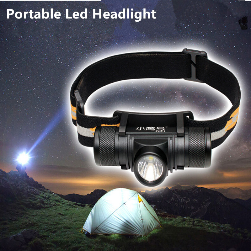 S2833 Powerfu Led Headlight USB Chargeable 18650 T6 10W Torch Light Headlamp 800LM Led Flashlight Tactical 10w led tactical flashlight t6 zoom torch waterproof 18650 lanternas practical light for bike lamp cheap sale