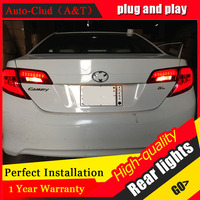 Auto Clud Car Styling for Toyota Camry Taillights 2012 Camry LED Tail Lamp Aurion Rear Lamp DRL+Brake+Park+Signal led lights