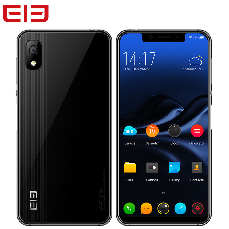 Elephone A4 Smartphone Face ID 3GB RAM 16GB ROM Android 8.1 s