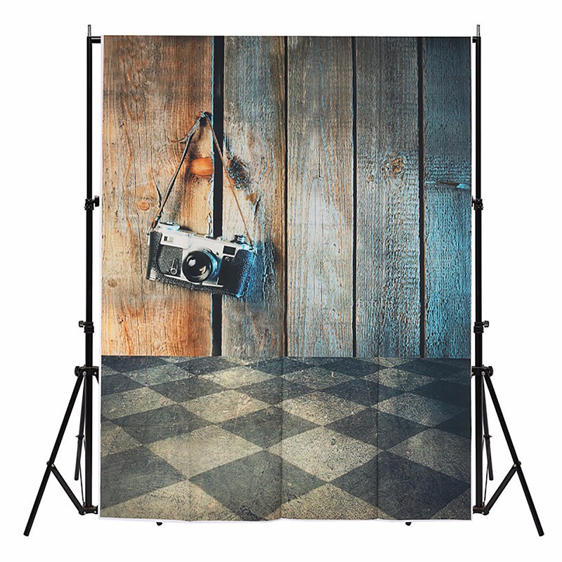 3x5ft Wood Wall Floor Vinyl Ancient Photography Background For Studio Photo Props camera Photographic Backdrop Cloth 1 mx 1.5M