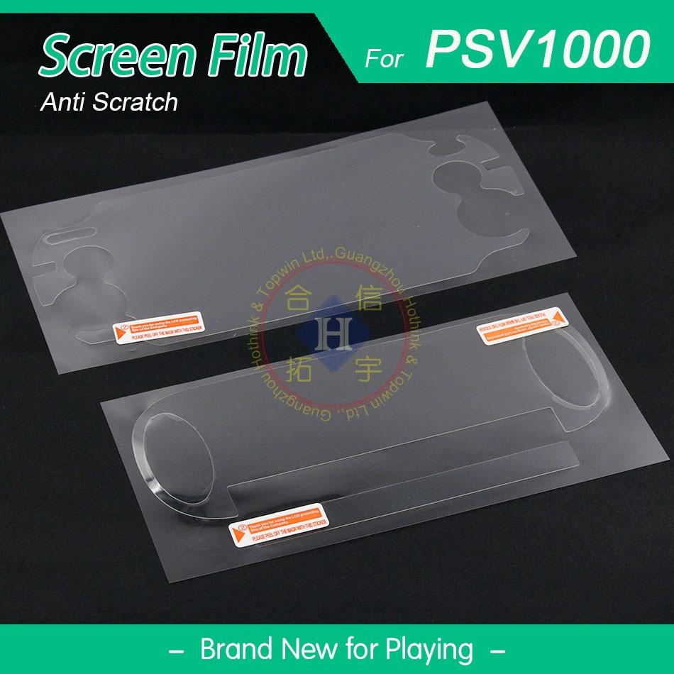 HOTHINK (2 компл./лот) ЖК-экран и нижняя крышка против царапин защитная пленка для PSVita 1000 PSV PS Vita 1000