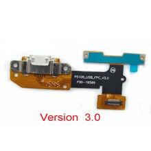 10 개/몫, USB 도크 충전 포트 플렉스 케이블 보드 레노버 요가 탭 3 YT3 X50L yt3 x50f yt3 x50 yt3 x50m p5100_usb_fpc_v3.0