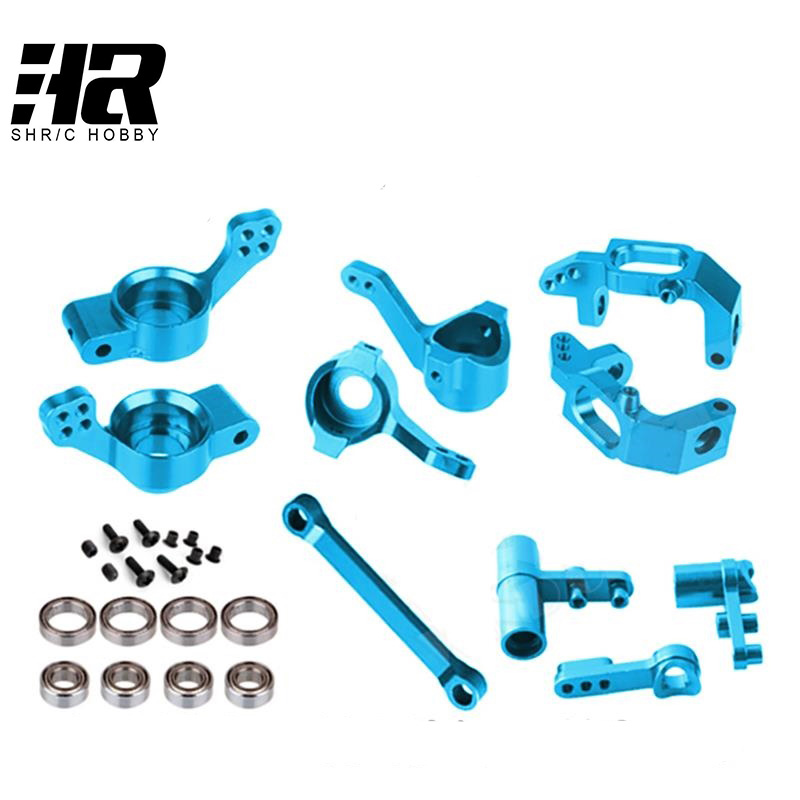 RC car HSP Upgrade Parts Bearing 02013 02014 02015 02025 02074 Aluminum 102010 102011 102012 102040 102057 For 1/10 Scale Models 82910 ricambi x hsp 1 16 282072 alum body post hold himoto 1 16 scale models upgrade parts rc remote control car accessories