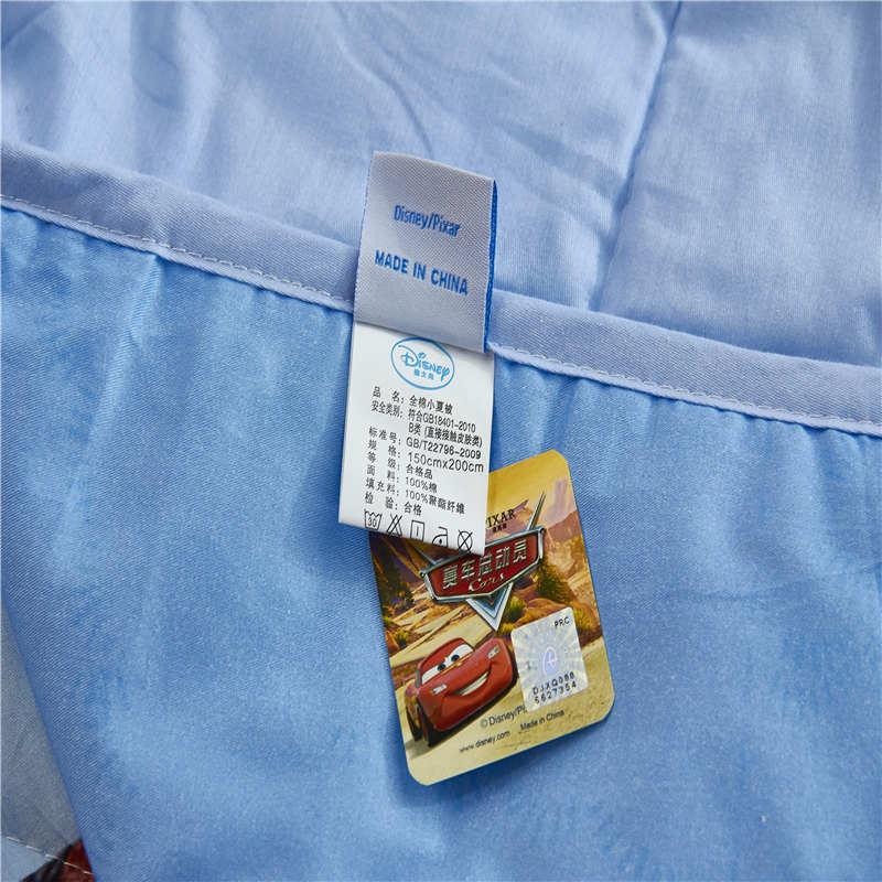 Disney Authentic McQueen Blanket Duvets Bedding Cotton Covers Children's Baby Kids Bedroom Decor 150*200cm and 200*230cm - 6