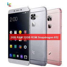 "Letv LeEco Le 2X520 4G LTE Smartphoe Android 6.0 Snapdragon 652 octa-core 3 GB + 32 GB 16.0MP + 8.0MP 5,5 ""Fingerabdruck Handy"