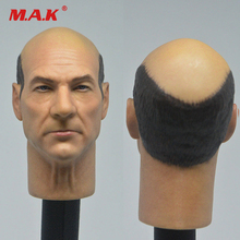 цена на 1/6 Scale Male Head Model Sculpt  Old X Professor Charles Head Carving X Warring Wolverine 3 Toy For 12