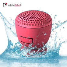 Whitelabel Waterproof Bluetooth Speaker Wireless Portable Mini LoudspeakerSpeaker Subwoofer Box With Suction Cup for iPad(China)