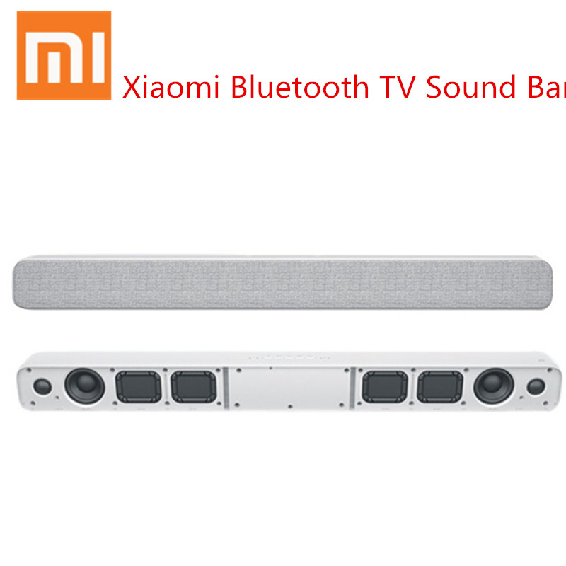цена на Xiaomi TV Sound Bar Soundbar Rectangle Bluetooth Speaker Support Optical SPDIF AUX in for Home Cinema Theater Original Package