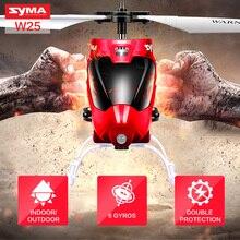 Vente chaude Marque Syma W25 Mini RC Drone Radio Télécommande Hélicoptère avec Clignotant LED Lumière de Nuit