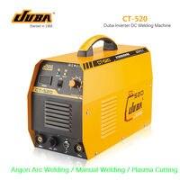 3 Em 1 CT-520 CT520 TIG MMA Cortador De Corte Plasma Inversor DC máquina de solda soldador com acessórios grátis