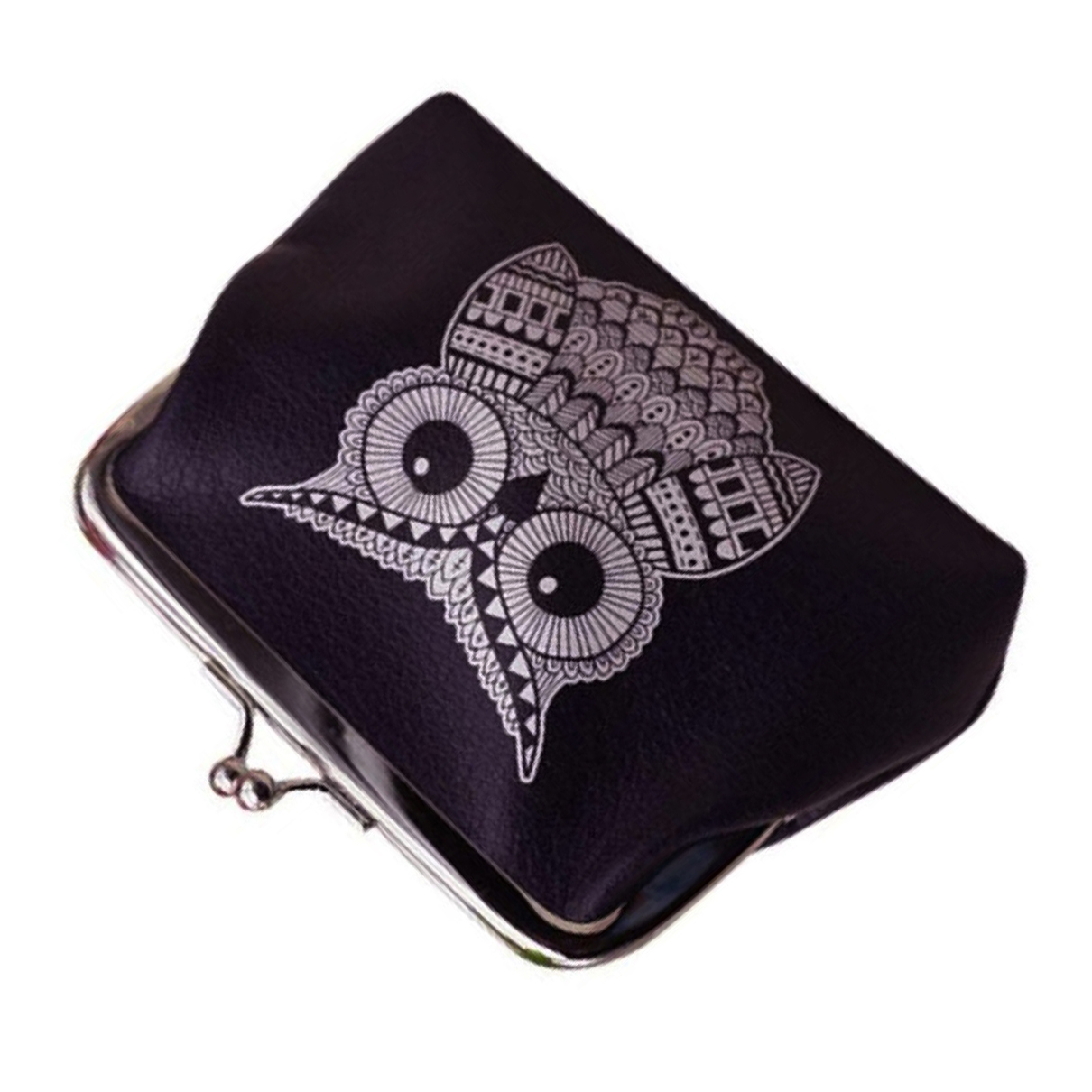Hot Fashion Womens Lady Wallet Bag Coin Purse Clutch Handbag (Owl) ...