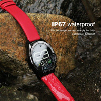 Smart Wrist Watch Bluetooth Fashion Camera Heart Rate Waterproof 1.3 Full circle inch IPS HD LCD USB For Android iOS