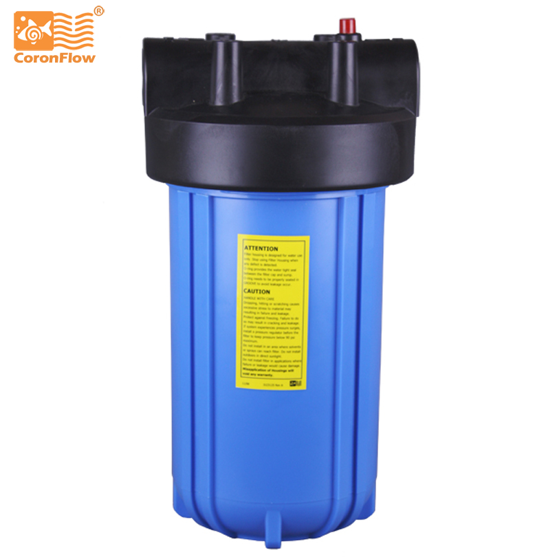 Coronwater Big Blue Water Filter Housing 10 with Pressure Relief for Water Purifier цена