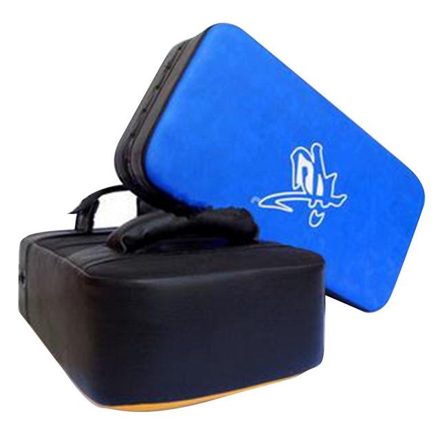Punching Bag Boxing Pad Sand Bag Fitness Taekwondo MMA Kicking Punching Pad PU Leather Training Gear Muay Thai Foot Target