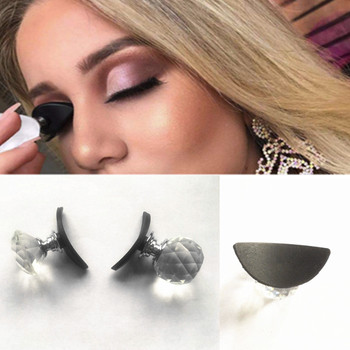 New Makeup Tools Crystal Lazy Silicon Eye Shadow Stamp Crease Eyeshadow Stamp Glittering Lazy Applicator Silicon Eyeshadow Seal
