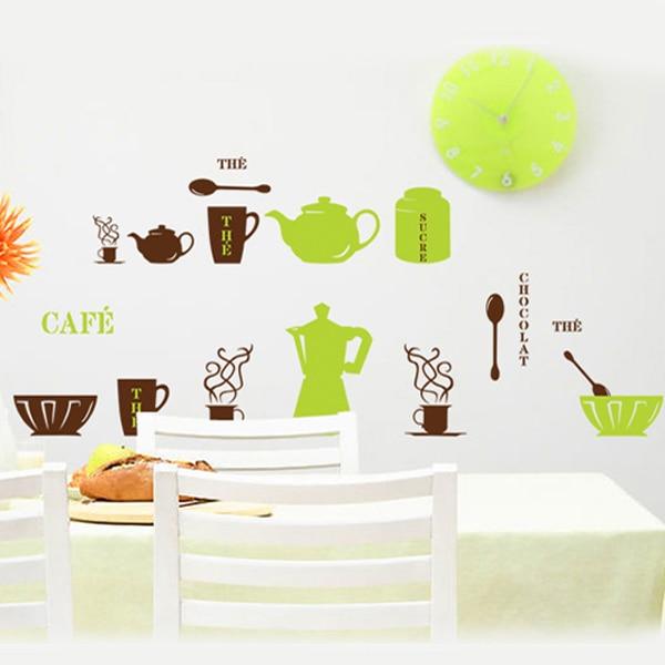 Tienda Online Colorido DIY cocción verde café vajilla té creativo ...