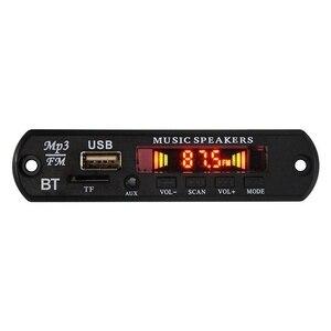 Image 1 - Digitale Bluetooth 4.0 senza perdita di MP3 scheda di decodifica MP3 APE FLAC Lettore AUX altoparlante Della Carta di TF Radio Fm Per Auto modificata