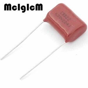 Image 2 - MCIGICM 1000 pcs 220nF 224 630V CBB Polypropylene film capacitor pitch 15mm 224 220nF 630V
