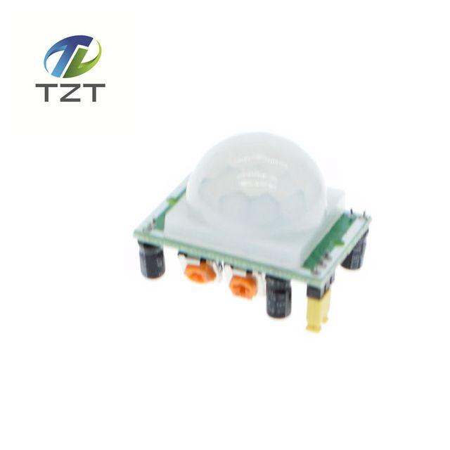 1 stks hc-sr501 pas ir pyro-elektrische infrarood pir motion sensor detector module voor arduino voor raspberry pi kits