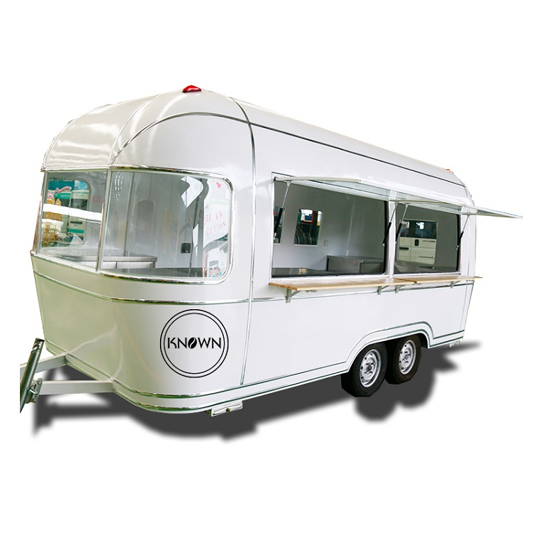 KN-FT05A Pefect Design Food Trailer Mobile Street Food Kiosk Can Be Customized Bus Food Truck