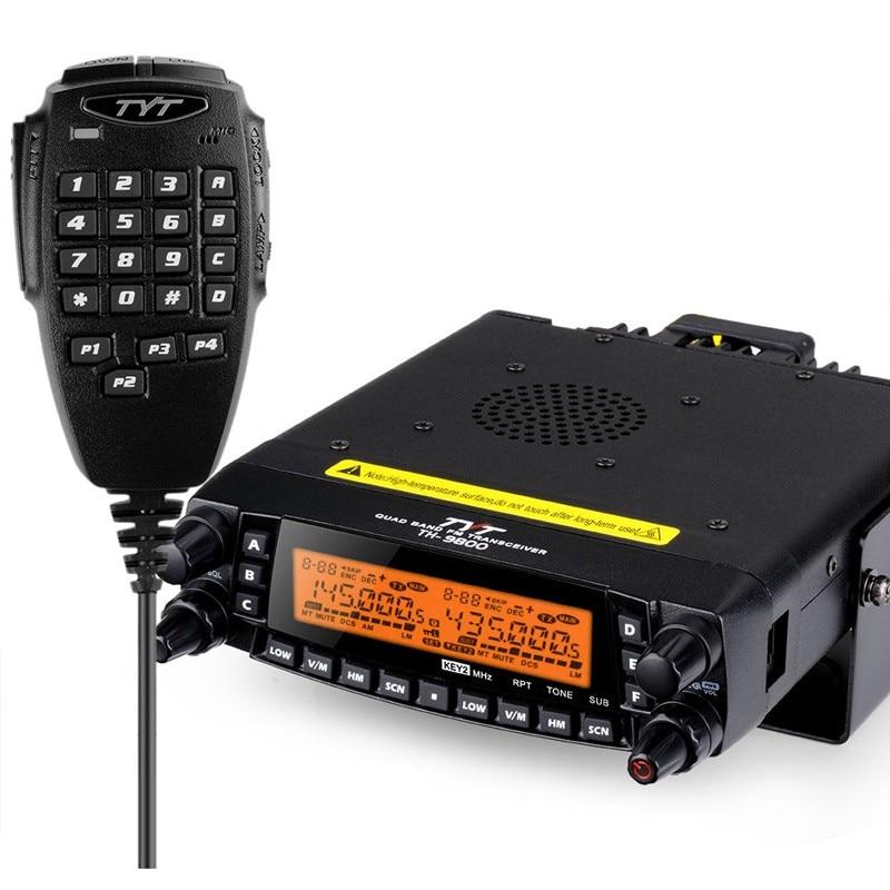 Free Shipping TYT TH9800 HF/VHF/UHF AM Air-band Reception Amateur Radio Transceiver