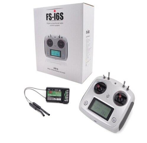 Oyuncaklar ve Hobi Ürünleri'ten Parçalar ve Aksesuarlar'de F17905 Flysky FS i6S 2.4G 10CH AFHDS Dokunmatik Ekran Verici + FS iA6B Alıcı Self Merkezi Gaz Mod DIY RC Multicopter'da  Grup 1