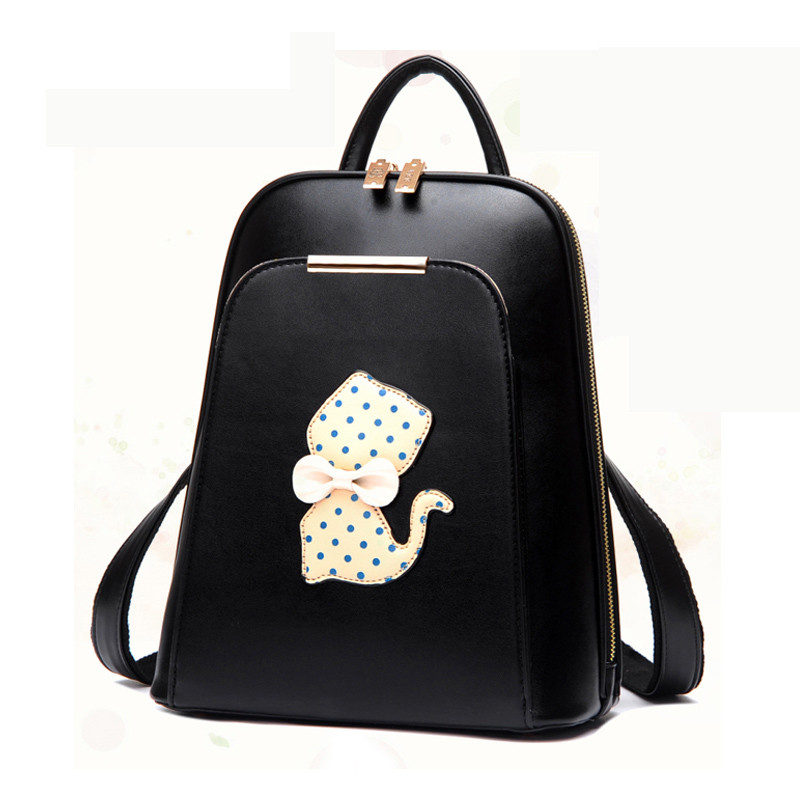Famous Brand Women Backpack Luxury Designer Lady's Small Vintage Backpacks For Teenage Girls High Quality PU Leather Travel Bags kashidinuo brand fashion women backpacks high quality pu leather backpack student book bags ladies travel bags for teenage girls