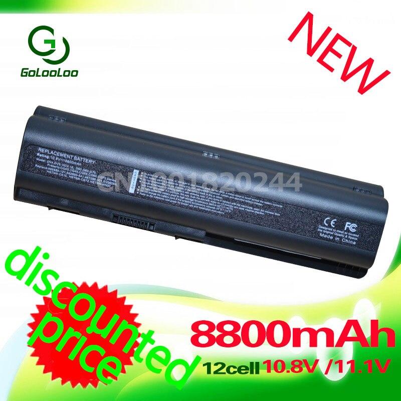 Golooloo 8800mah batería para HP Pavilion G61 DV4 DV6 DV6 DV6T G50 - Accesorios para laptop - foto 1