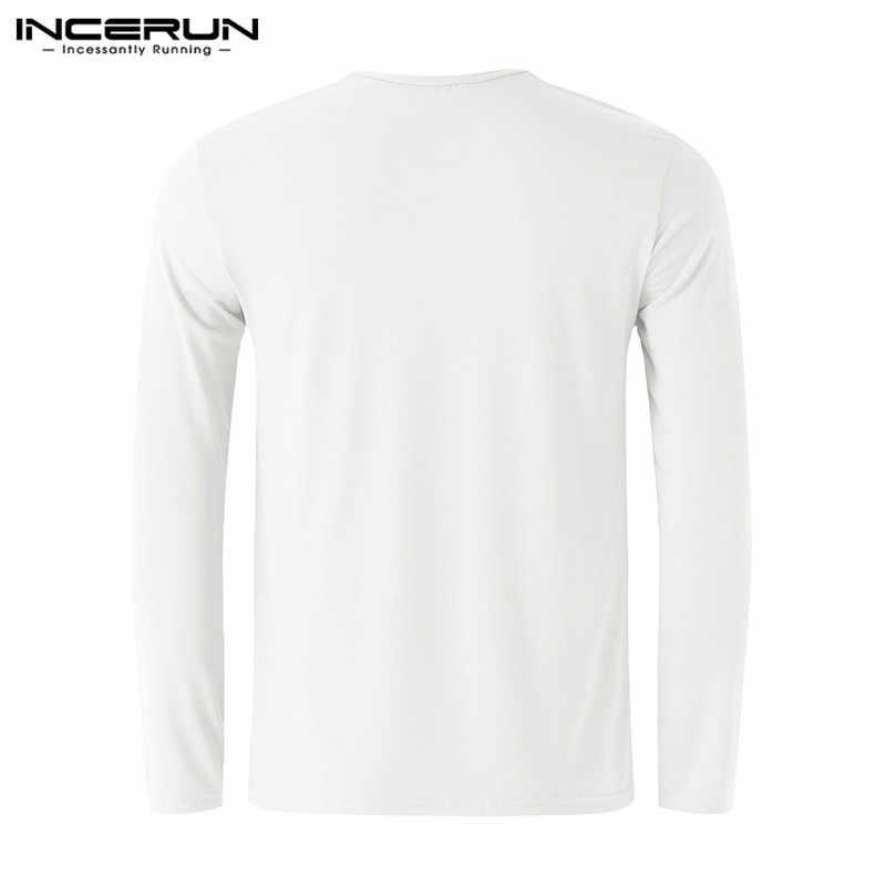 Мужская футболка с длинными рукавами и круглым вырезом, облегающая футболка, топы, термобелье, футболка, сплошной цвет мужской повседневный Базовый Топ 2019 зима 2XL