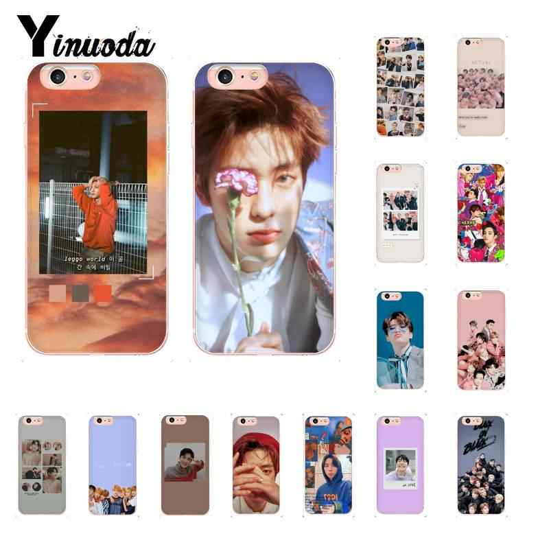 Yinuoda KPOP K.A.R.D MONSTA X NCT 127 Novelty Fundas Phone Case  for iPhone 8 7 6 6S Plus X XS MAX 5 5S SE XR 11 11pro 11promax