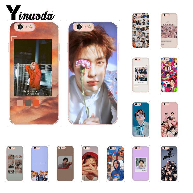 Yinuoda KPOP K.A.R.D MONSTA X NCT <font><b>127</b></font> Novelty Fundas Phone Case for iPhone 8 7 6 6S Plus X XS MAX <font><b>5</b></font> 5S SE XR 11 11pro 11promax image