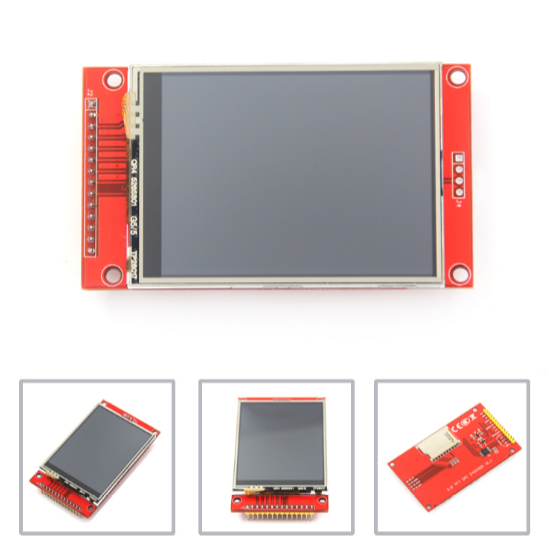 2.8 240x320 SPI TFT LCD Serial Port Module+PCB Adapter Micro SD ILI9341 5V/3.3V wholesale 1pc 2 2 inch 240 320 dots spi tft lcd serial port module display ili9225 5v 3 3v new hot