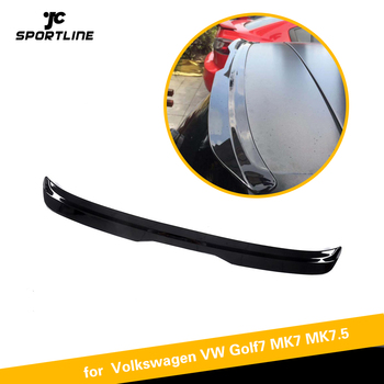 For Volkswagen VW GOLF MK7 VII 7 7.5 Rline 2014 - 2019 ABS Rear Roof Window Spoiler Wing Boot Lip