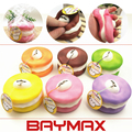 Rare Squishy Slow Rising Macaron Cake Mobile Phone/Bag Strap Charms Toys Kids Gift