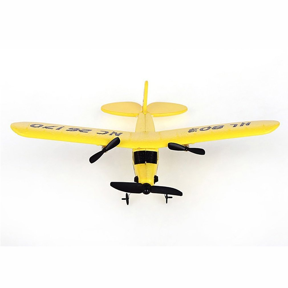HL 803 RC Plane Toy Airplane EPP Foam body Glider Indoor outdoor infrared remote control Quadcopter Glider Plane For kids Toy in RC Helicopters from Toys Hobbies