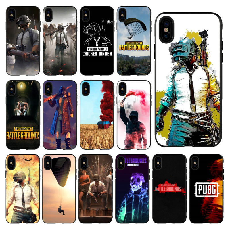 Babaite PUBG Winner TPU Soft Phone Accessories Cover for Apple iPhone 11 pro max 5 5S SE 6 6S 7 8  Plus X XS MAX XR Mobile Cases