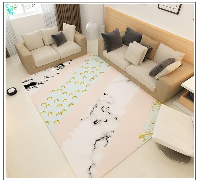 Nordic Style Geometric Carpet
